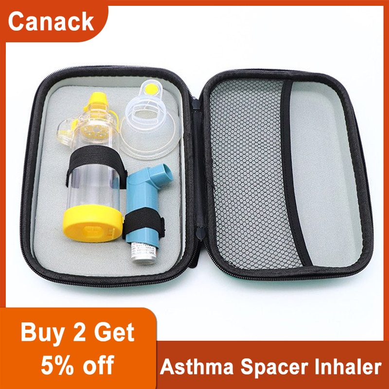 Professional Adult/Pediatric/Baby Asthma Spacer Inhaler Spacer Device Silicone Aerosol Cabin Surgical Supplies