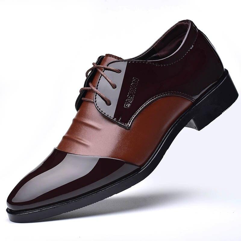 Zapatos de vestir de negocios para hombres zapatos de boda zapatos de...