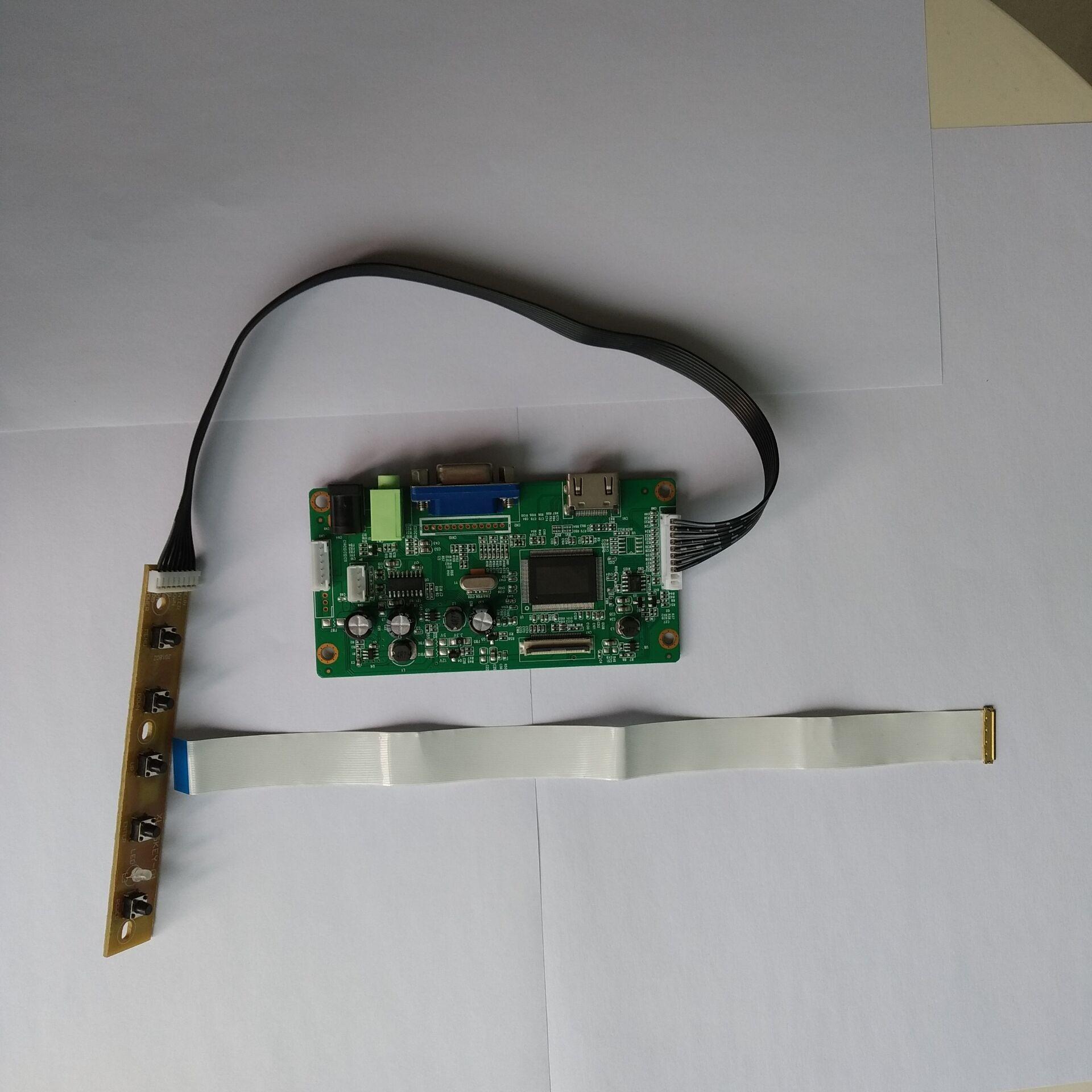 كيت ل LTN140AT35-T01 تحكم فدس مجلس سائق 1366x768 LCD HDMI VGA شاشة EDP لوحة LED عرض 14.0