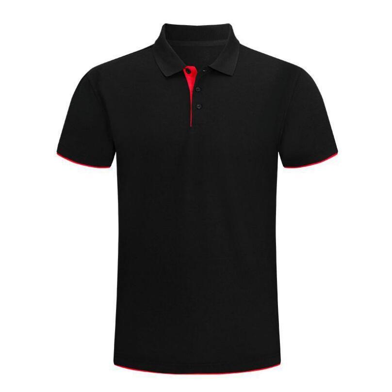 2021 جديد رجل الموضة قميص بولو رجالي الصيف عادية تنفس القطن الرجال قصيرة الأكمام عالية الجودة