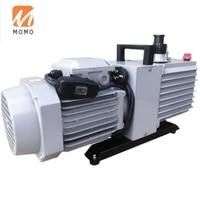 double level ratary vane type vacuum pump repair air conditioner refrigerator laboratory small industrial suction pump oil