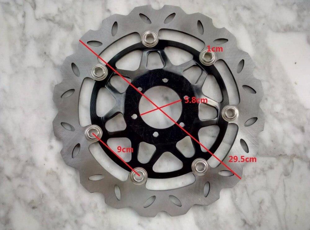 CB400 VTEC 1/2/3/4 1999-2008 Front Motorcycle Brake Rotor Discs Disk enlarge