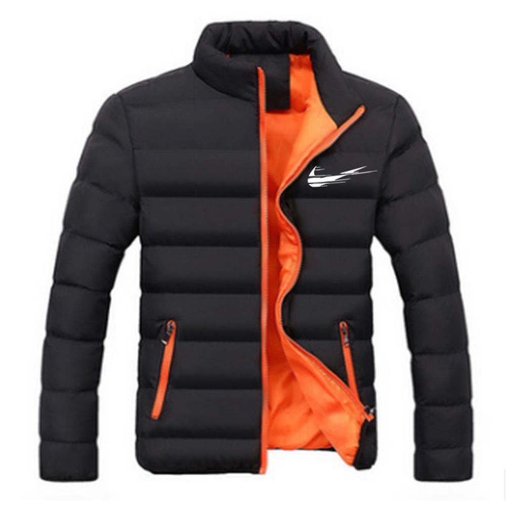 Новая демисезонная Мужская куртка, повседневная мужская верхняя одежда, Женская куртка с воротником, Мужская однотонная верхняя одежда, Бр...