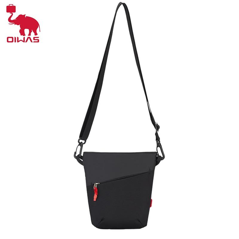 oiwas men Oiwas Men Messenger Shoulder Bag Fashionable Personality Portable Men's Bag Waterproof Casual Travel Bag Small Sling DayPack
