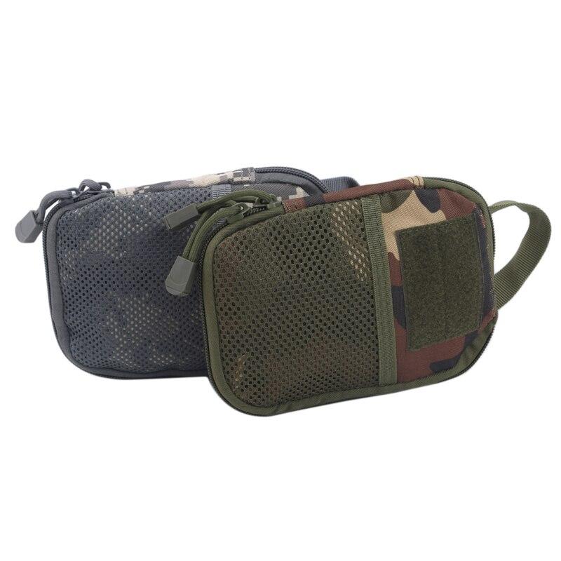 Bolsa de Cintura ao ar Resistente ao Desgaste e à Prova de Rasgo Livre Prático Acampamento Tático Mochila Móvel Acessórios Kit