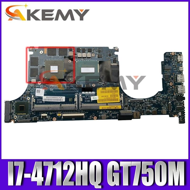 الأصلي اللوحة لابتوب ديل XPS 15 9530 I7-4712HQ GT750M اللوحة VAUB0 LA-9941P CN-0R99XN 0R99XN SR1PZ N14P-GT-A2 2G