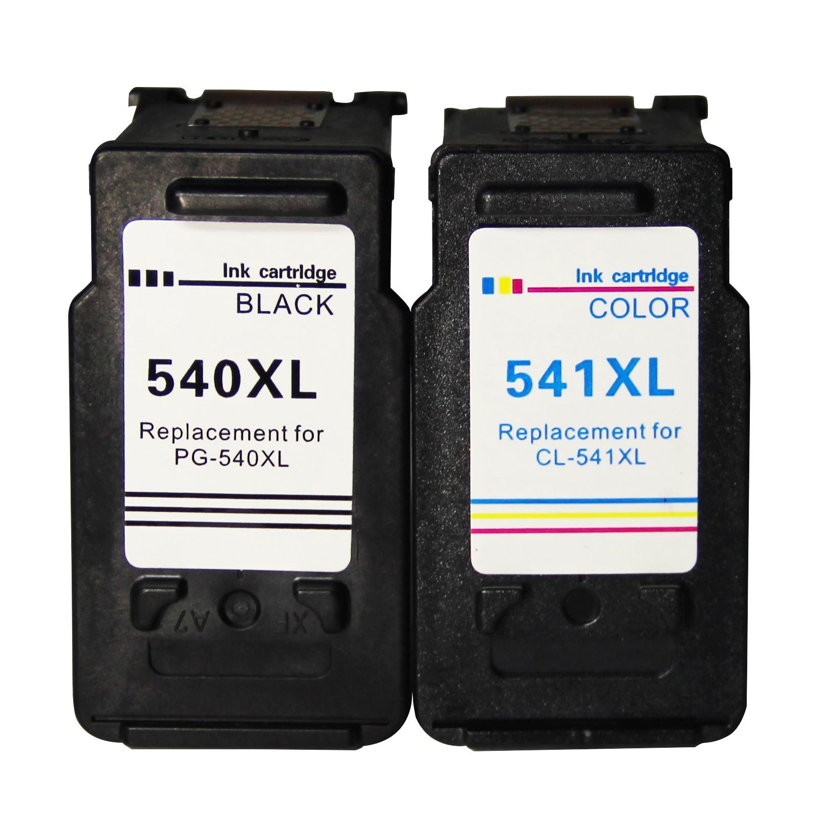540XL 541XL pg540 cl541 compatibles para Canon PG 540 CL cartucho 541 Pixma MG3150 MG3550 MG4250 MG3250 MG3255 MG4150 impresora