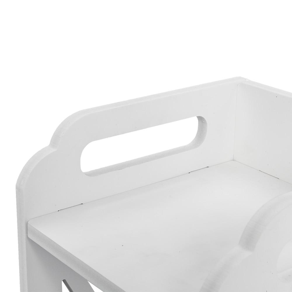 Купить с кэшбэком Environmental Friendly Bathroom Storage Rack Drawer Multi Compartment Organizer Shelf Water Proof Anti Rot Bathroom Shelves