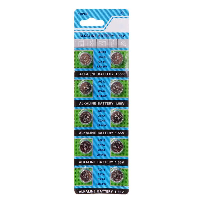 10pcs alkaline battery ag12 1 5v lr43 386 button coin cell watch toys batteries control remote sr43 186 sr1142 lr1142 10Pcs Alkaline Battery AG13 1.5V LR44 386 Button Coin Cell Watch Toys Batteries Control Remote SR43 186 SR1142 LR1142