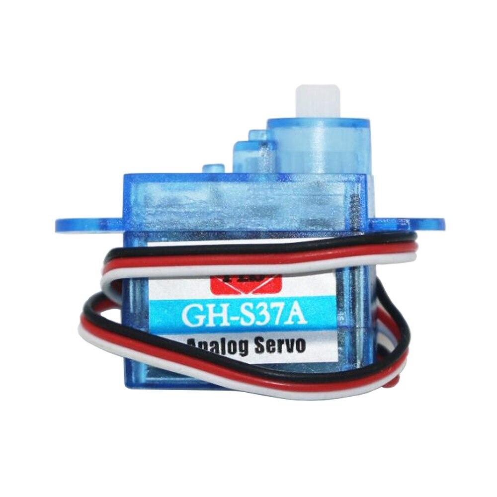 LaDicha 4X 3.7 G Micro Anal/ógico Servo Gh-S37A para RC Avi/ón Helic/óptero