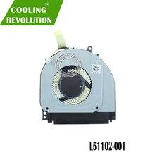 Original para HP X360 14-DH 14-dh1036tx CPU ventilador L51102-001 TPN-W139