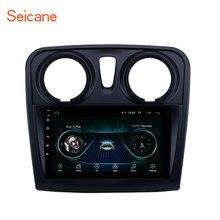 Seicane 9 인치 차량용 멀티미디어 플레이어 2 din Android 8.1 for Renault Dacia Sandero 2012 2013 2014-2017 지원 후면 카메라