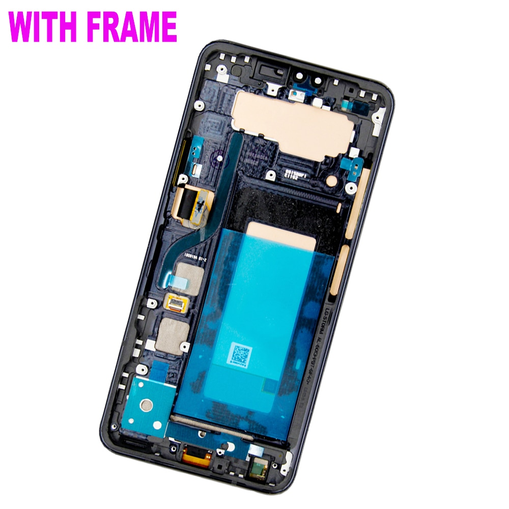 Original For LG V40 V50 LCD Display Touch Screen Digitizer Assembly With Frame For LG V40 ThinQ V50 ThinQ 5G LCD Replacement enlarge