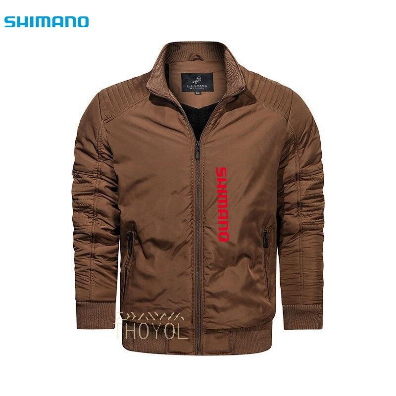 Зимняя куртка для рыбалки Shimano, водонепроницаемая одежда для рыбалки, уличная одежда для рыбалки, теплая ветрозащитная Мужская одежда для р...