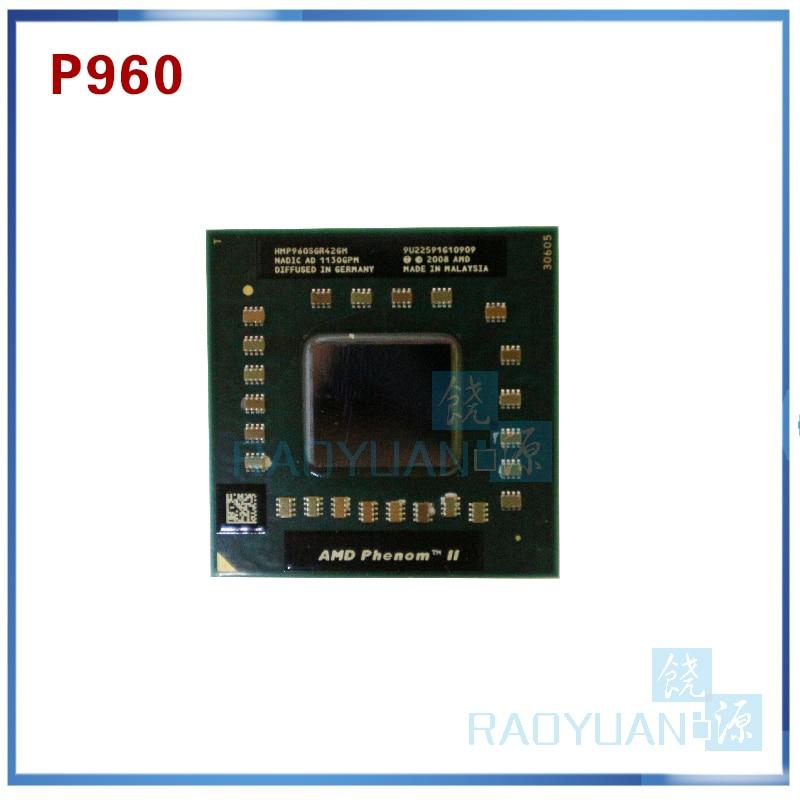 Amd phenom cpu quad core p960 hmp960sgr42gm cpu 1.8g clocked 2 m soquete s1 cache
