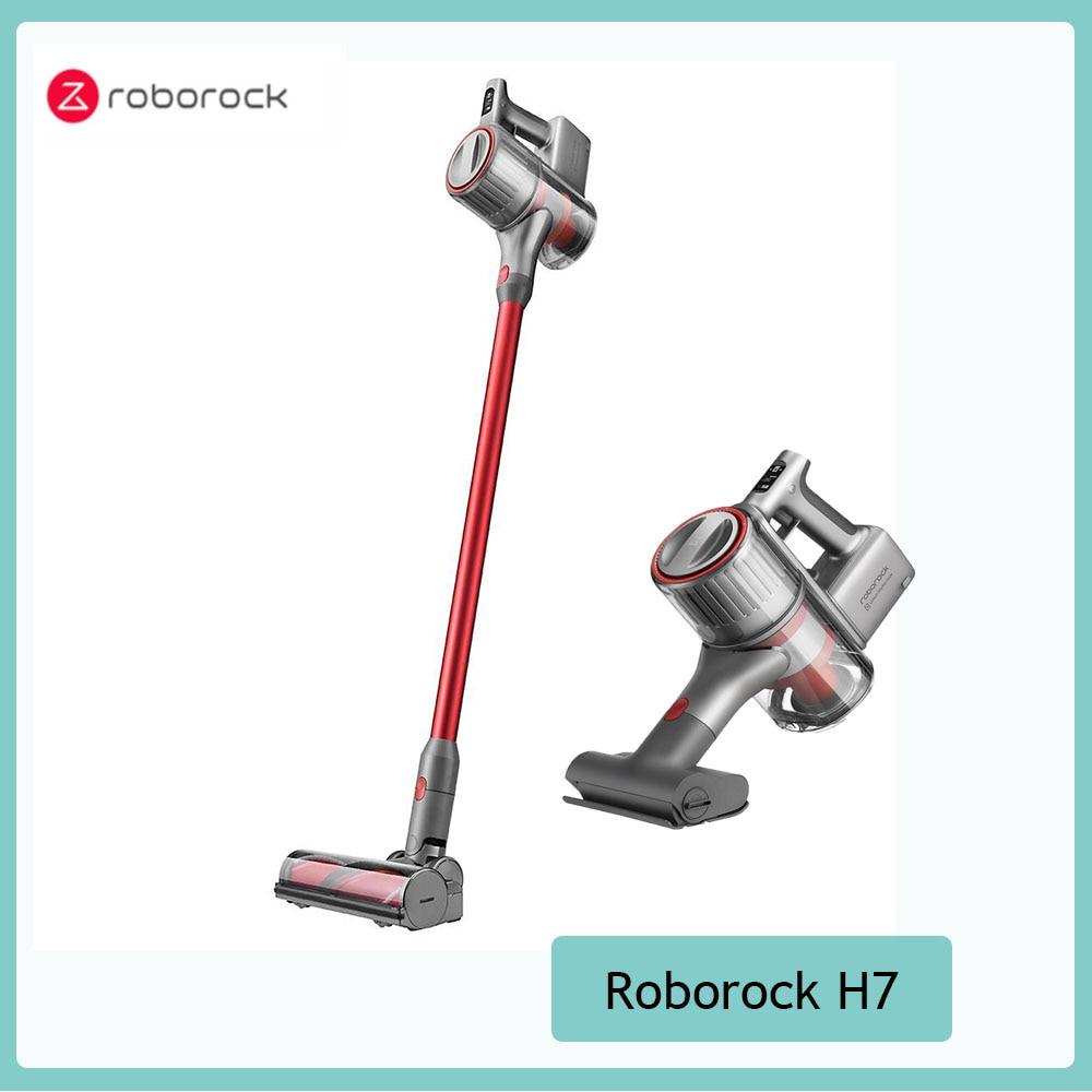 Roborock H7 – aspirateur à main Portable à forte aspiration 160AW 420W, affichage OLED, deux méthodes de collecte de la poussière
