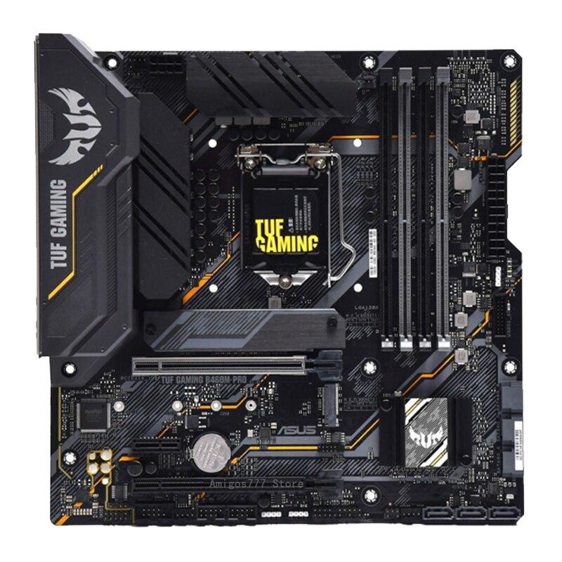 Asus TUF GAMING B460M-PRO Motherboard With Intel Core i5 10400F Motherboard Combo LGA 1200 DDR4 Overlockin Gaming Placa-Mãe New