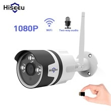 Hiseeu Outdoor IP Camera Wireless WIFI Home Surveillance Security Camera 1080P 720P Waterproof CCTV Camera with Two-way Audio