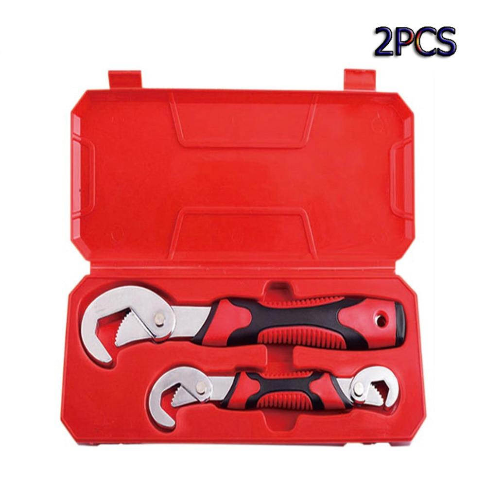 Набор универсальных гаечных ключей 2 шт. регулируемый портативный