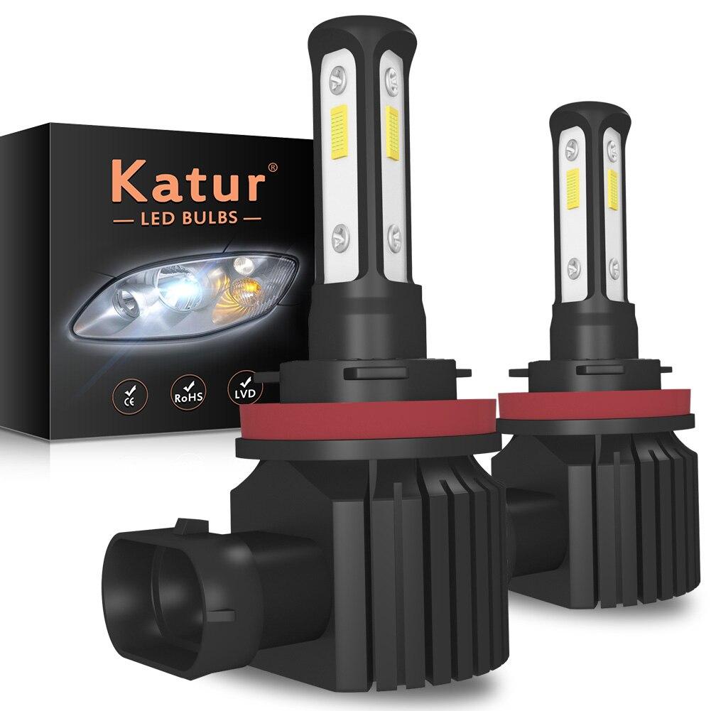 2pcs H11 H8 H9 LED Canbus Car Light H16 JP 9005 9006 H7 LED DRL Fog Light For Nissan Honda Peugeot Suzuki Lada Audi Kia BMW Ford