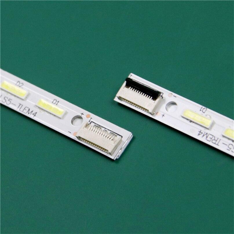 Iluminação led para tv, substituição para panasonic TX-L50EM6B TC-L50EM5 led barra de luz de fundo faixa régua V500H1-LS5-TLEM4 LS5-TREM6