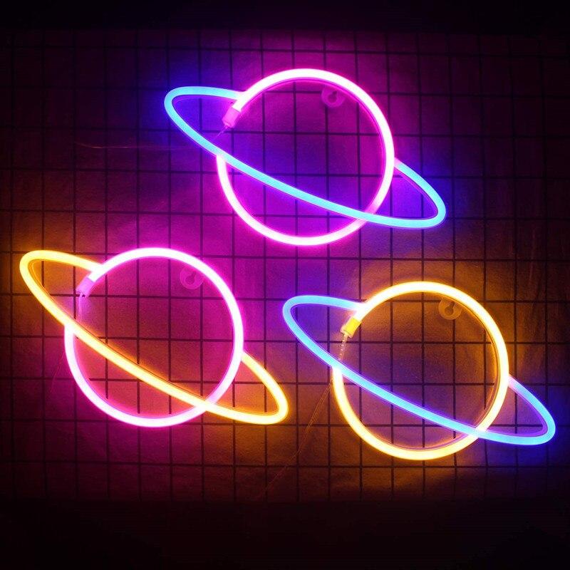 النيون أضواء النيون الصمام ضوء النيون أضواء ل غرف نوم الديكور النيون خطابات للماء النيون مصباح DC4.5V