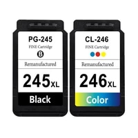 sansemei pg 245xl cl 246xl ink cartridges for canon pg245 cl246 replacement for pixma ip2820 mg2924 mg2520 mx490 mx492 printer