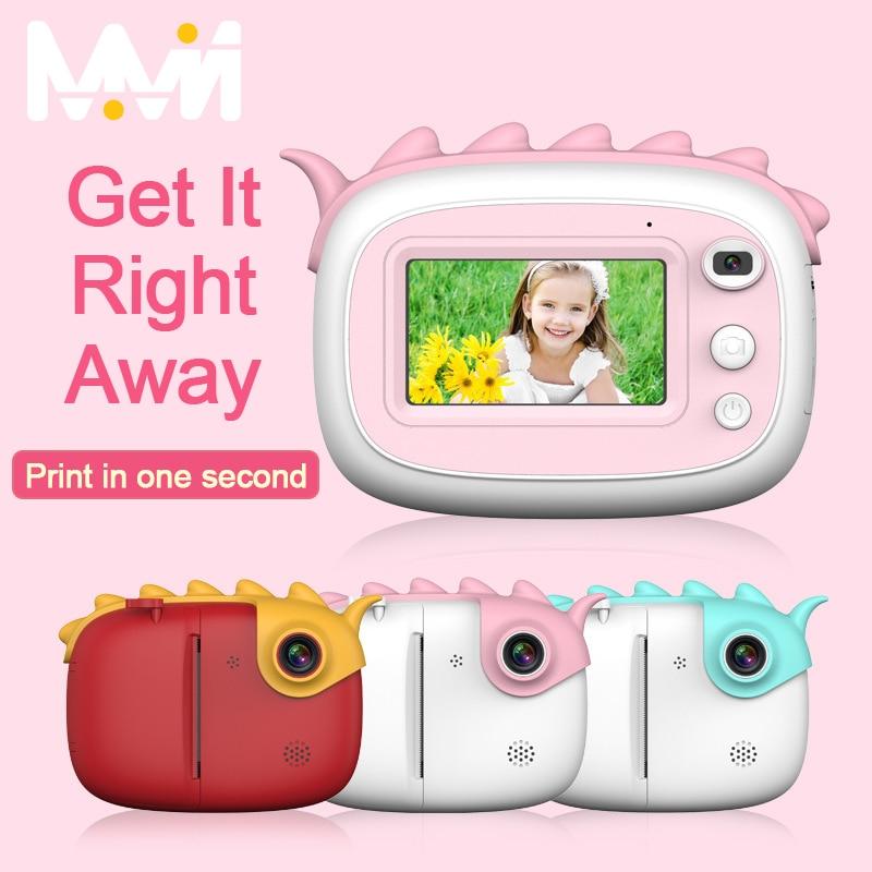 2800W Digital Camera Children Printable Camera 1080P HD Digital Instant Camera IPS Kids Toys DIY Pai