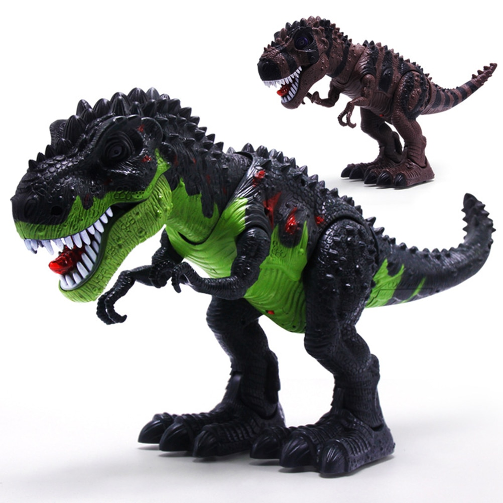 Walking Dinosaur with LED Light and Sound Realistic Dinosaur Toy with Walking Motion and Swinging Tail Action Birthday Gift