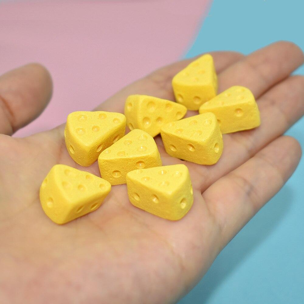 20 unids/lote Comida en miniatura 1/6 Mini pastel de queso Blyth Barbies...