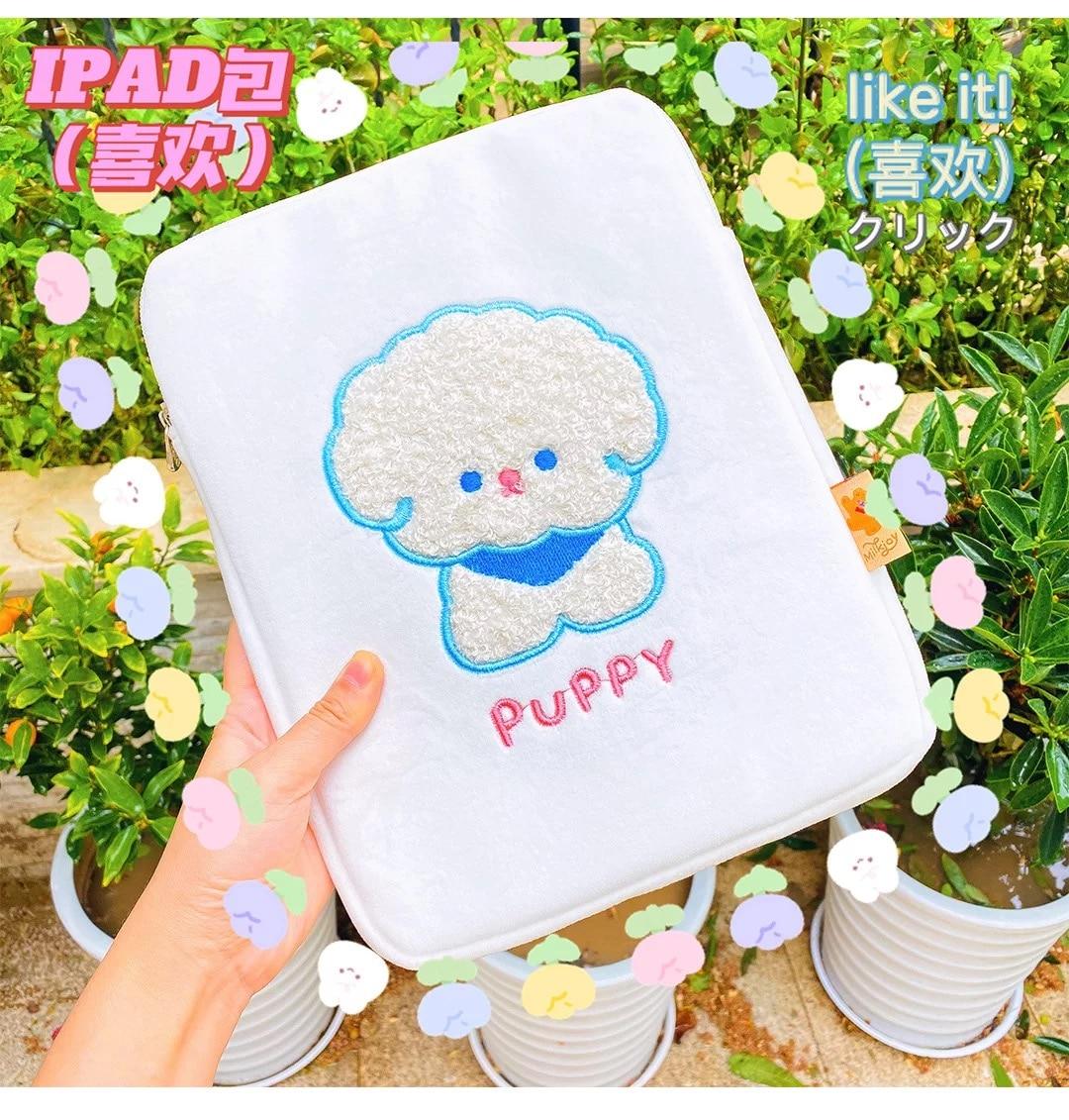 Чехол для Ipad Pro 11, 2021, чехол для Ipad в Корейском стиле с симпатичным медведем для девочек, чехол для Ipad 10,5 дюйма, мультяшный чехол для Ipad Air, доро... чехол