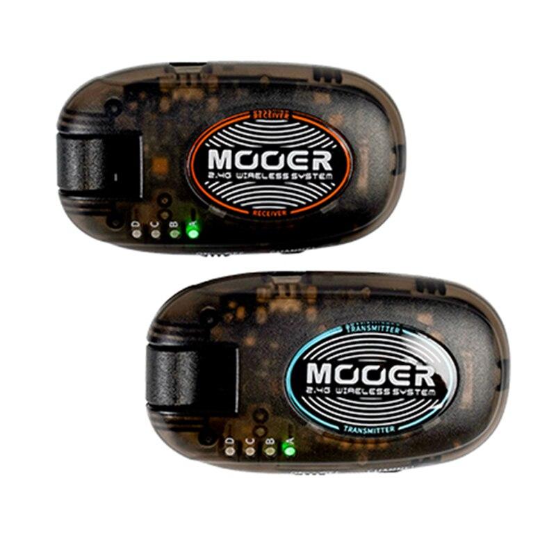 MOOER Air P10 2.4G Wireless Guitar Transmitter Receiver Set Rechargeable Wireless Guitar System 15 Meters Transmission Range Set enlarge