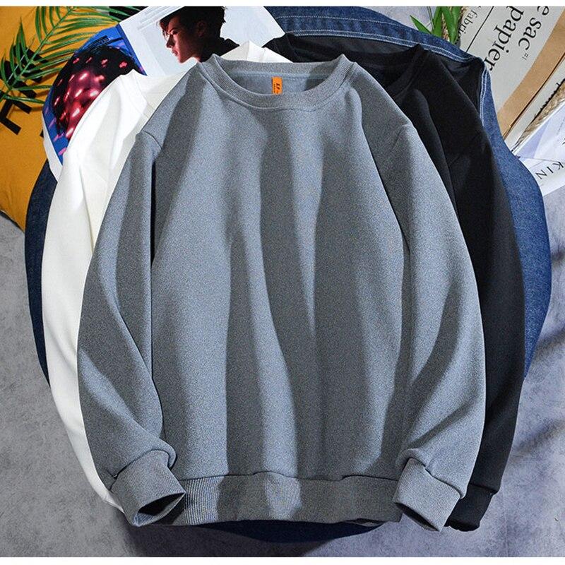 Sweater Plush men's and women's basic versatile loose BF fashion warm jacket