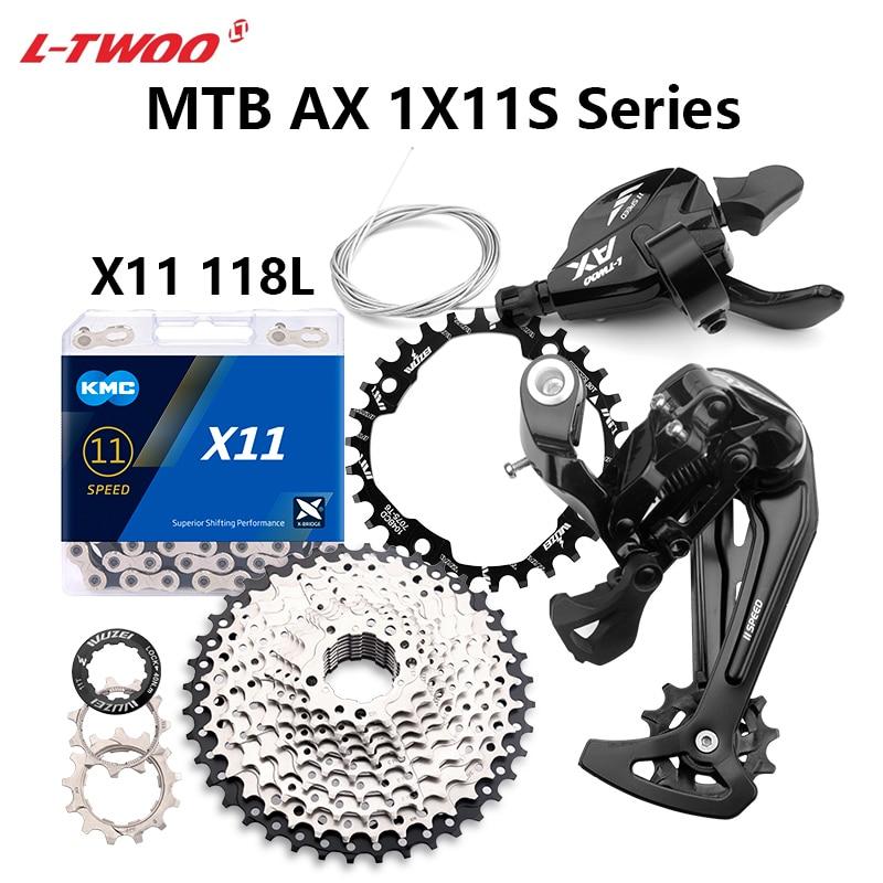 محوّل زناد 11 سرعة AX11 من LTWOO 11 S مصباح خلفي لأشعة الشمس المشرقة 11 فولت 40T 42T 46T 50T 52T سلسلة KMC X11 لسلسلة M7000