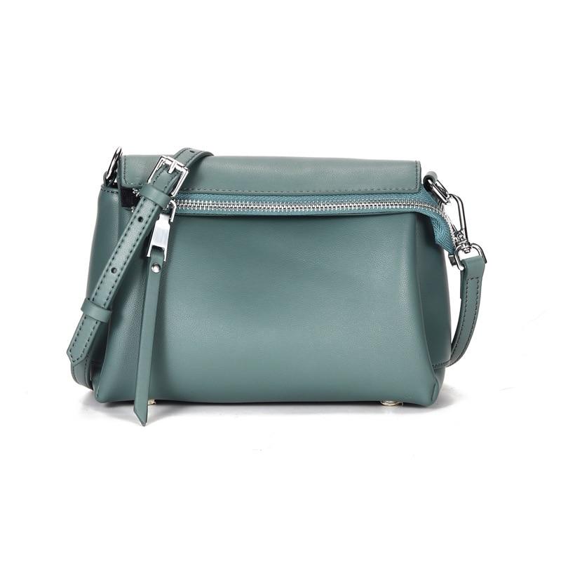 RanHuang New 2020 Women's Fashion Flap High Quality Cow Leather Shoulder Bags Designer Women Messenger Bags bolsa feminina