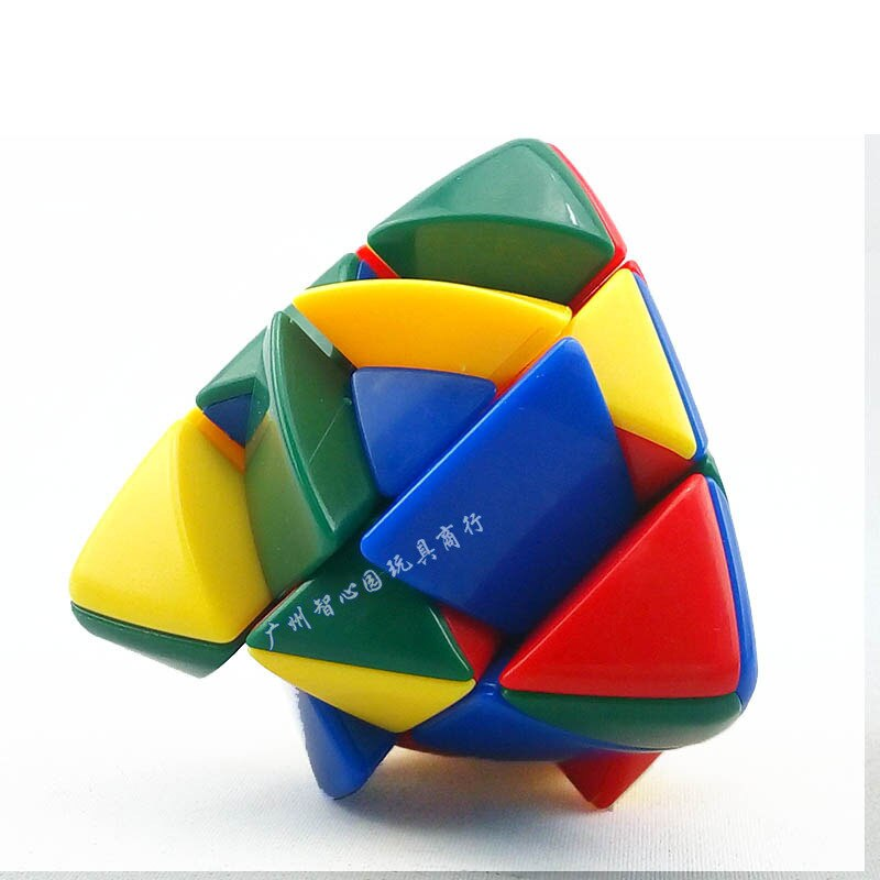 Cubo de Rubik de bola de masa de arroz con forma especial de tres capas, Cubo de Rubik, tres capas mágicas dumpli