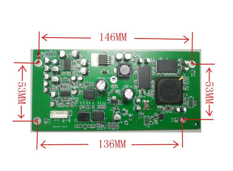 Microfone Anti-apito Shifter Freqüência Supressor de Feedback Módulo Palco KTV Automático Especial Placa de Processamento
