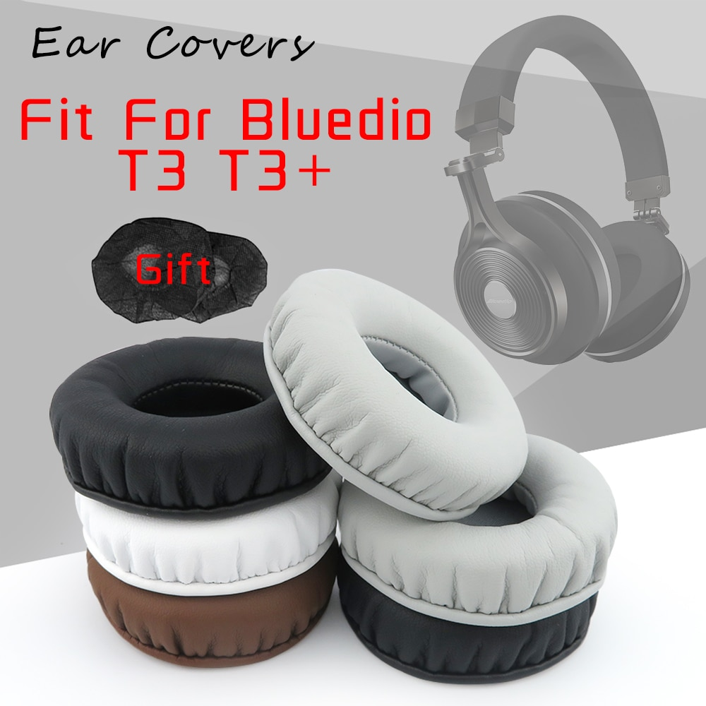 Ear Covers Ear Pads For Bluedio T3 T3+ Plus Headphone Replacement Earpads