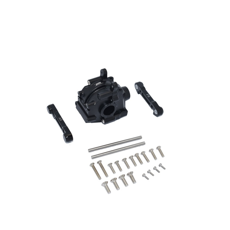 LOSI 1/10 LASERNUT TENACITY ULTRA aluminum front gearbox + front lower arm arm code set RC parts LOS232023 LU4012 enlarge