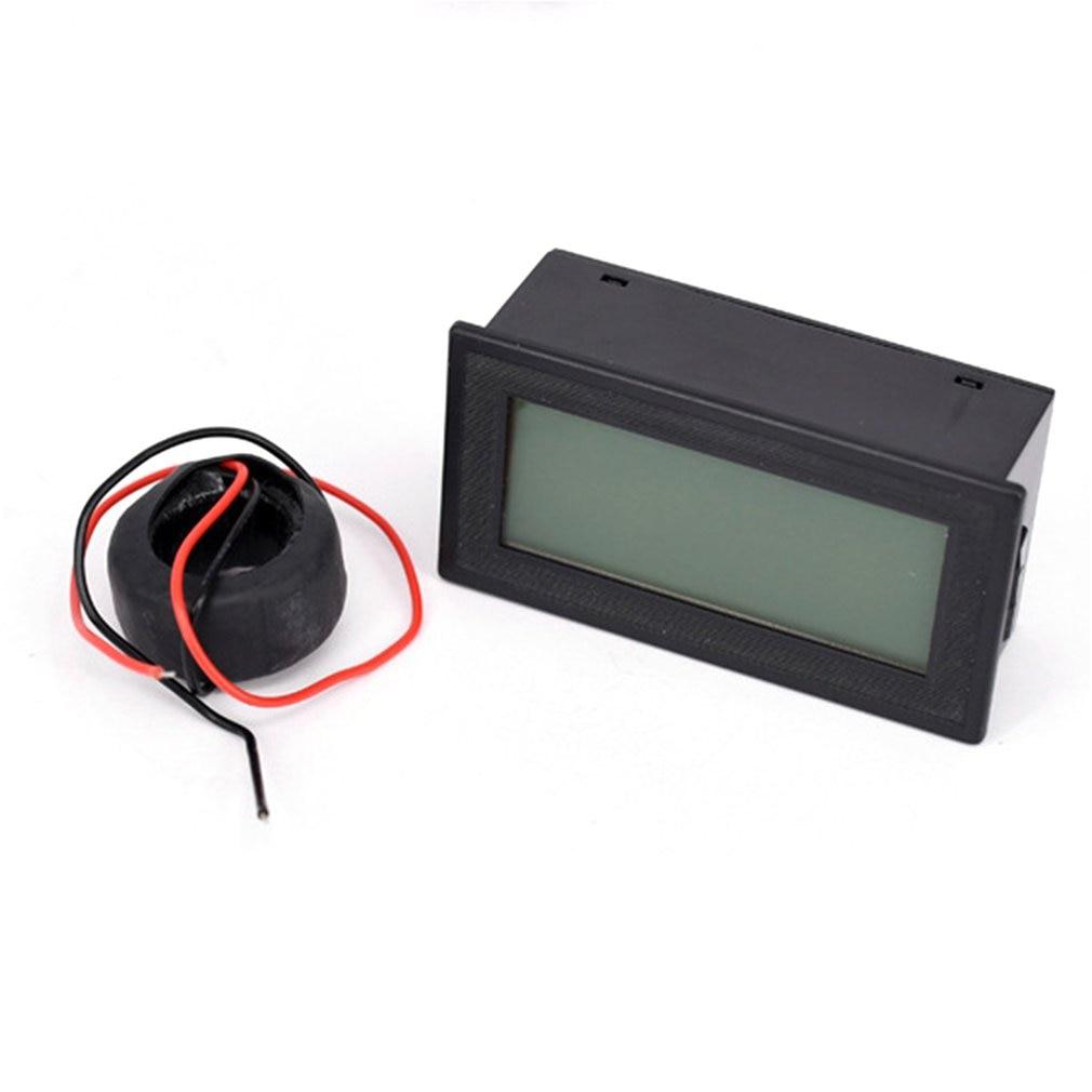 110V 220V 380V amperímetro trifásico de CA pantalla Digital multifuncional probador de frecuencia de potencia AC60-500V 20A tipo de división