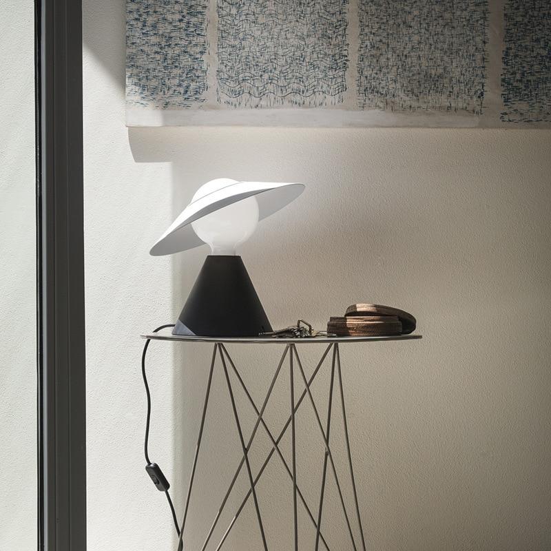 Post-Modern Scandinavian Creative Children's Room Cute Peter Pan Lamp Set Sample Showroom Bedroom Bedside Lamp enlarge