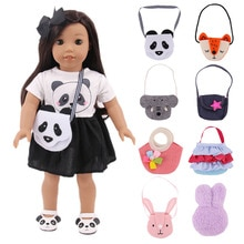Doll Bag Hot Sale Cute Dolls Bag Backpack For 18 Inch 43cm Doll Bag Accessories Girl's Best Gifts