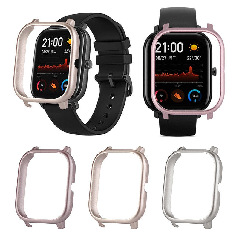 1pcs Professional Fashion For Huami AMAZFIT GTS Watch Metal PC Ultra Light Protective Case Smart Wearable Devices Accessories