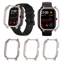 1pcs Professional Fashion For Huami AMAZFIT GTS Watch Metal PC Ultra Light Protective Case Smart Wea