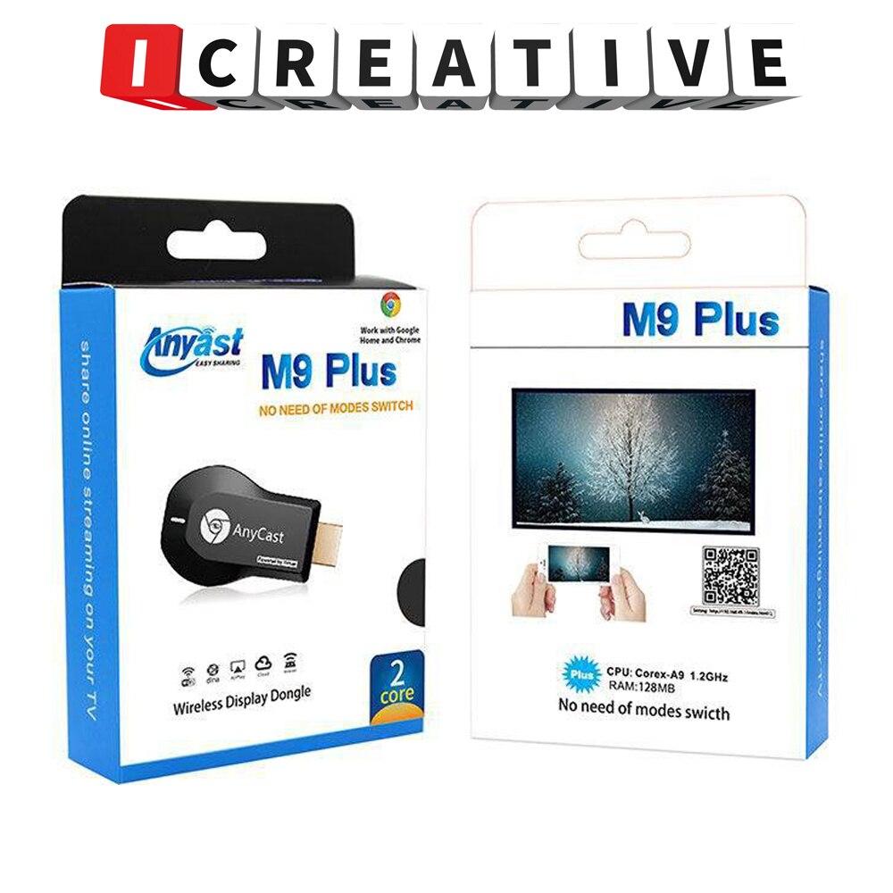 NEW AnyCast M9 Plus 1080P Wireless  TV Stick WiFi Display Dongle HDMI Receiver Media TV Stick DLNA A