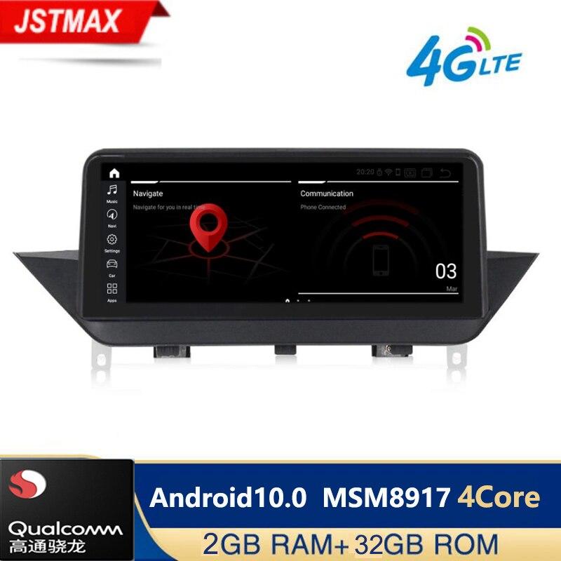 Android10.0 2 + 32G reproductor de radio para coche para BMW X1 E84 2009, 2010, 2012, 2013, 2014, 2015 iDrive CIC GPS de navegación Multimedia 4G LTE WIFI