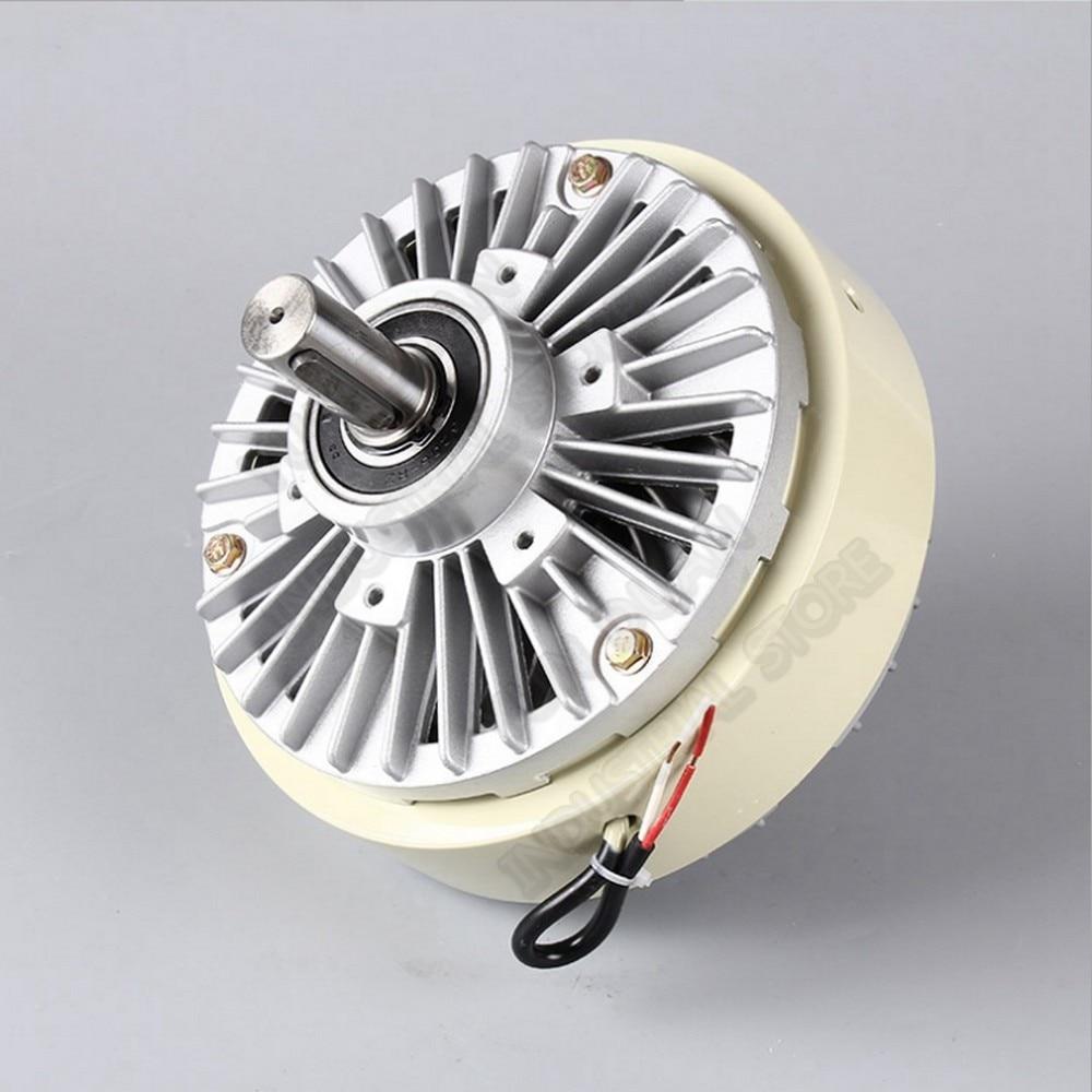 5 كجم 50Nm DC 24V مزدوجة رمح المزدوج 2 محور المغناطيسي مسحوق الفاصل لف الفرامل ل التوتر التحكم حقيبة الطباعة والصباغة آلة