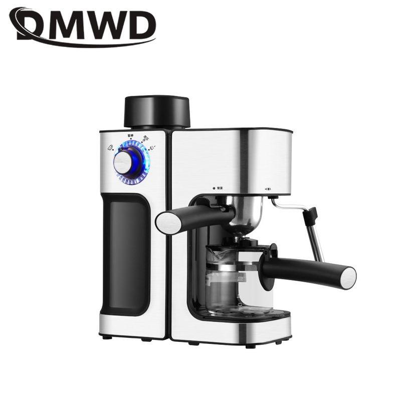 DMWD 240 مللي ماكينة صنع قهوة اسبريسو إيطالية ماكينة القهوة الكهربائية التلقائية لاتيه كابتشينو CafeMocha حليب فروذرز حليب رغوي