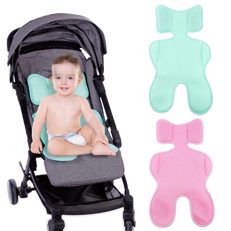 Cojín para silla de bebé verano transpirable silla de paseo infantil almohadilla fresca colchón recién nacido accesorios de cochecito Dropshipping