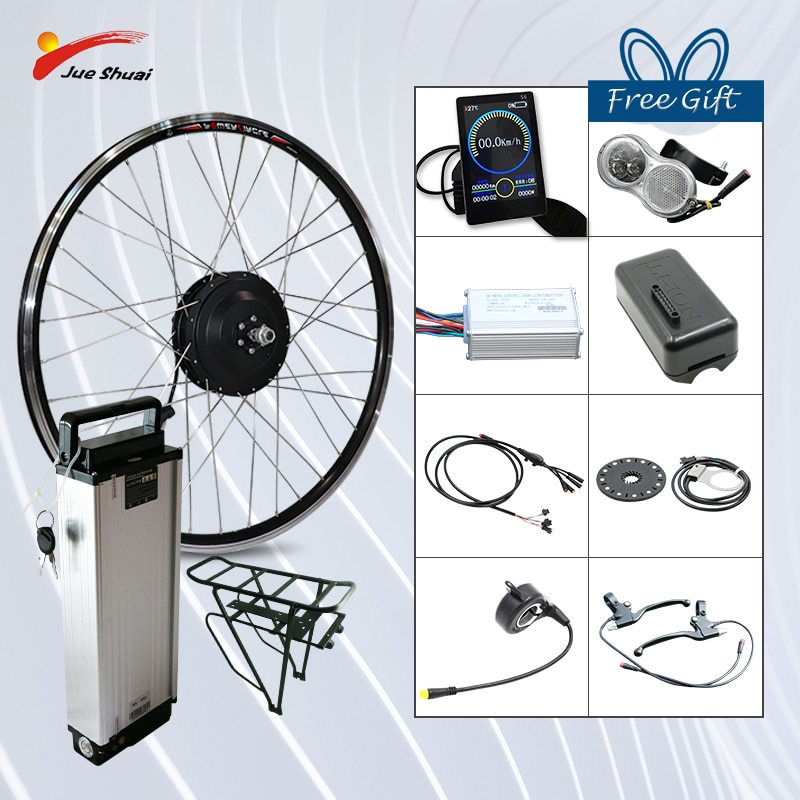 36V 250W 350W 500W Kit de conversión de Bicicleta eléctrica frente Hub...